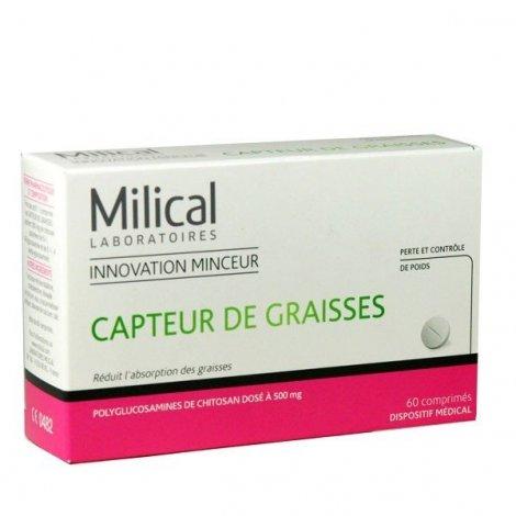 Milical capteur de graisses 60 comprim s - Xls medical capteur de graisse pas cher ...