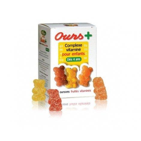 Ours+ Concept Vitaminé Pour Enfants x30 Gommes pas cher, discount