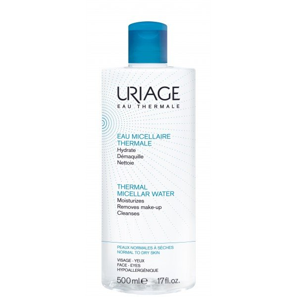 Uriage eau micellaire thermale hydrate demaquille nettoie - Eau micellaire bioderma pas cher ...