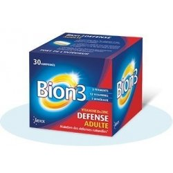 Bion 3 Défense Adultes x30 Comprimés