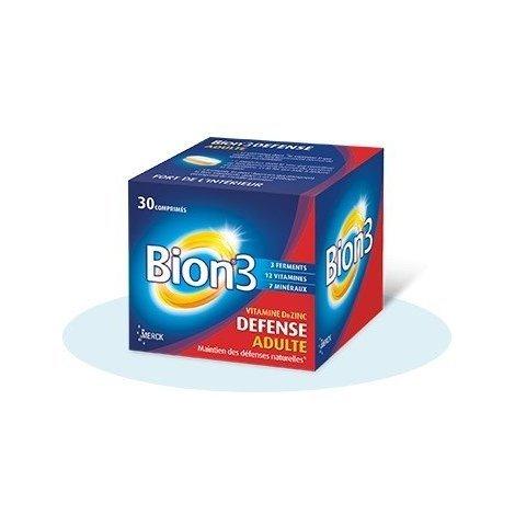 Bion 3 Défense Adultes x30 Comprimés pas cher, discount