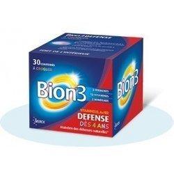 Bion 3 Défense Juniors dès 4 ans x30 comprimés à croquer