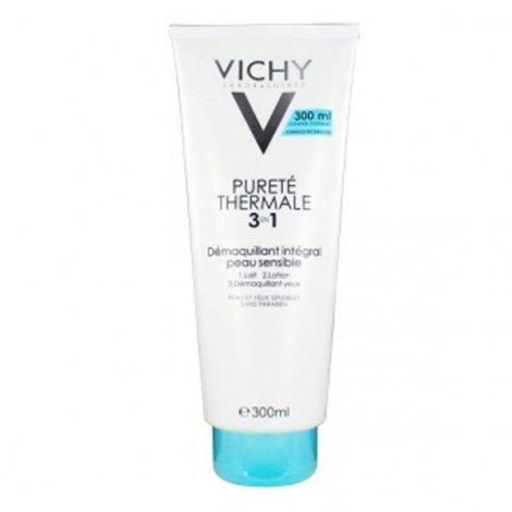 Vichy Pureté Thermale Démaquillant 3 en1 Intégral 300 ml pas cher, discount