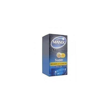 Manix Super x28 Préservatifs pas cher, discount