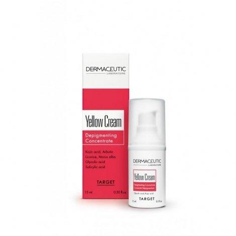 Dermaceutic Yellow Cream Concentré Anti-Taches 15 ml pas cher, discount