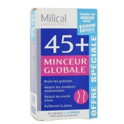 Milical 45+ Minceur Globale 42 comprimés + 14 OFFERT