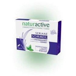 Naturactive Sériane Sommeil Facilite l'Endormissement Améliore la Qualité du Sommeil x30 Gelules