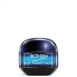 Biotherm Blue Therapy Crème Nuit Réparation des Signes Visibles de l'Age Tous Types de Peau 50 ml