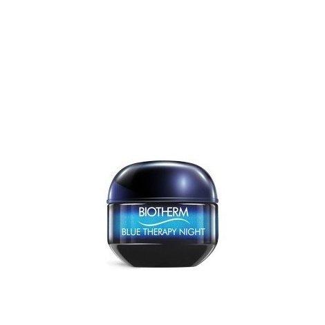 Biotherm Blue Therapy Crème Nuit Réparation des Signes Visibles de l'Age Tous Types de Peau 50 ml pas cher, discount