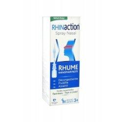 Rhinaction Spray Nasal Rhume Rhinopharyngite Decongestionne Fluidifie Assainit 20 ml pas cher, discount