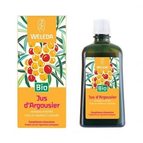 Weleda Jus d'Argousier Bio 200 ml pas cher, discount
