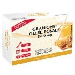 Granions Gelée Royale 1500 mg Miel Acérola 15 Sticks