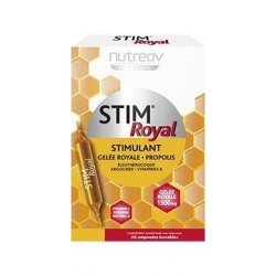 Nutreov Stim Royal Stimulant Gelée Royale Propolis 20 Ampoules