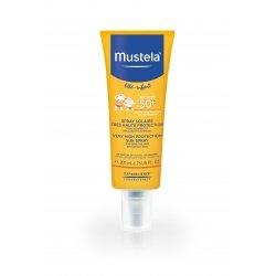 Mustela Bébé Enfant Spray Protecteur SPF50+ Peau Délicate et Fragile 200 ml