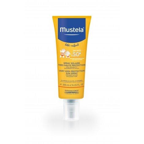 Mustela Bébé Enfant Spray Protecteur SPF50+ Peau Délicate et Fragile 200 ml pas cher, discount