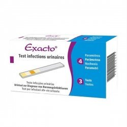 Exacto Test Infections Urinaires x3 Tests pas cher, discount