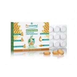 Puressentiel Respiratoire 24 Pastilles aux 3 Miels Aromatiques pas cher, discount