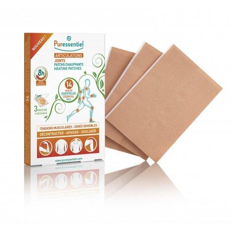 Puressentiel Articulations 3 Patchs Chauffants aux 14 Huiles Essentielles pas cher, discount