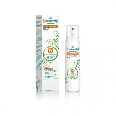 Puressentiel Circulation Spray aux 17 huiles essentielles 100 ml pas cher, discount
