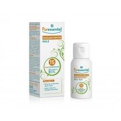 Puressentiel Huile Massage Ventre aux 15 Huiles Essentielles 50 ml pas cher, discount