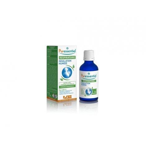 Puressentiel Respiratoire Inhalation Humide aux 8 Huiles Essentielles 50ml pas cher, discount