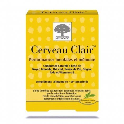 New Nordic Cerveau Clair 60 Comprimés pas cher, discount