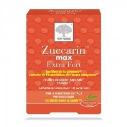 New Nordic Zuccarin Extra Fort 45 Comprimés pas cher, discount