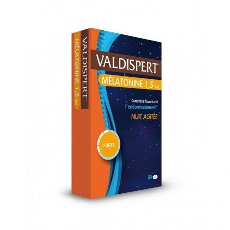 Valdispert Mélatonine 1,5 mg Nuit Agitée 50 Comprimés pas cher, discount