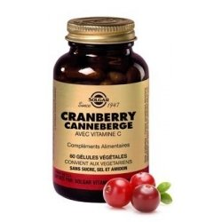Solgar Cranberry Canneberge 60 gélules