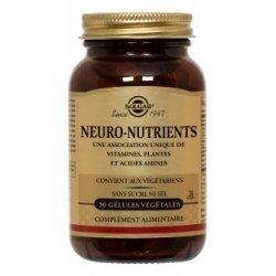 Solgar Neuro-Nutriments 30 gélules