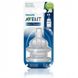 Avent Tetines Classic + Silicone 1m + x2 pas cher, discount