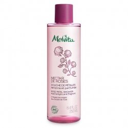 Melvita Nectar de Roses Douche de Pétales 3 Roses Sauvages 250 ml