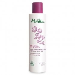 Melvita Nectar de Roses Voile Hydratant Corps aux 3 Roses Sauvages 200 ml