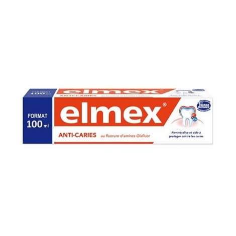 Dentifrice Elmex Protection Caries Au Fluor 100 ml pas cher, discount