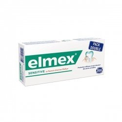 Dentifrice Elmex Sensitive Pack Double 2 x 75 ml