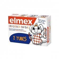 Elmex Dentifrice Enfant 2 Tubes de 50 ml