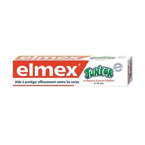 Elmex Junior 6/12 Ans au Fluor 75 ml pas cher, discount