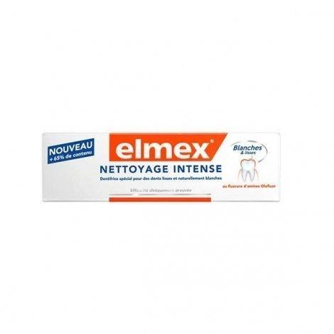 Elmex Nettoyage Intense Dentifrice pour des Dents Lisses et Naturellement Blanches 30 ml pas cher, discount