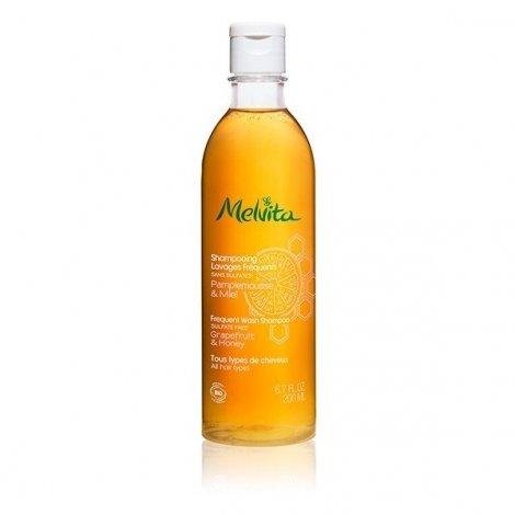 Melvita Shampooing Lavages Fréquents Pamplemousse et Miel 200 ml pas cher, discount