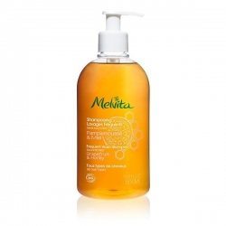 Melvita Shampooing Lavages Fréquents Pamplemousse et Miel 500 ml