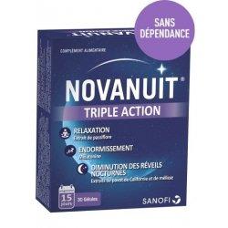 Novanuit Sommeil Triple Action 30 Gélules pas cher, discount