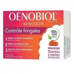 Oenobiol Minceur Contrôle Fringales 50 Gommes pas cher, discount