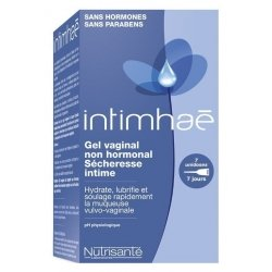 Nutrisanté Intimhaé Gel Vaginal Non Hormonal Sécheresse Intime 7 Unidoses pas cher, discount