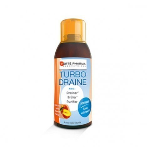Forte Pharma Turbodraine Minceur Goût Pêche 500 ml pas cher, discount