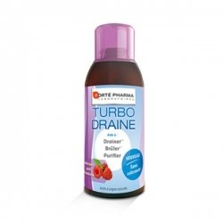 Forte Pharma Turbodraine Goût Framboise 500 ml pas cher, discount