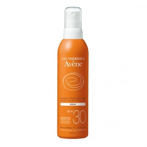 Avène Solaire Spray Haute Protection SPF30 200 ml pas cher, discount
