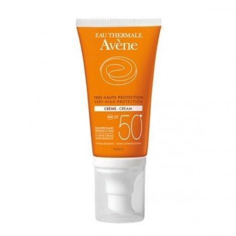 Avène Solaire Crème Solaire SPF50+ Peaux Sensibles et Sèches 50 ml pas cher, discount
