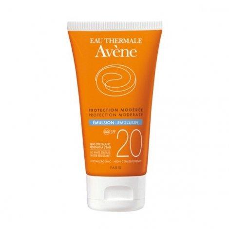 Avène Solaire SPF20 Emulsion Peaux Sensibles Normales à Mixtes 50 ml pas cher, discount