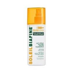 Soleil Biafine Lait Spray Solaire SPF 50+ 200 Ml
