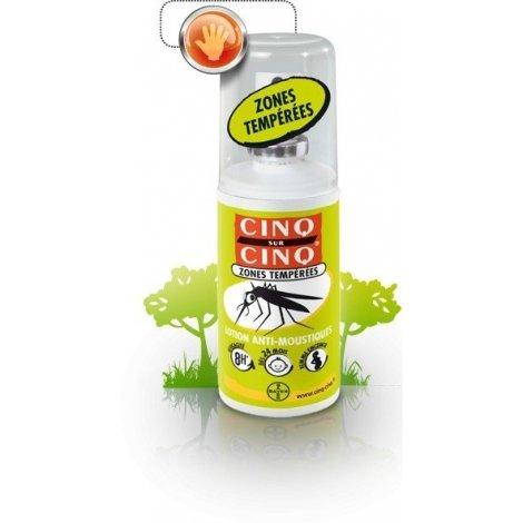 Cinq / Cinq Lotion Anti Moustique Zone Tempérées 75 ml pas cher, discount